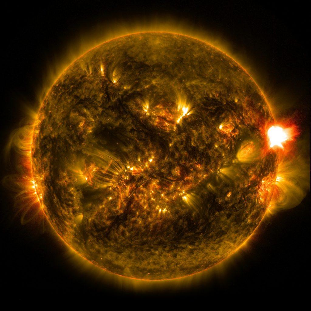 太陽フレア 人体 影響 耳