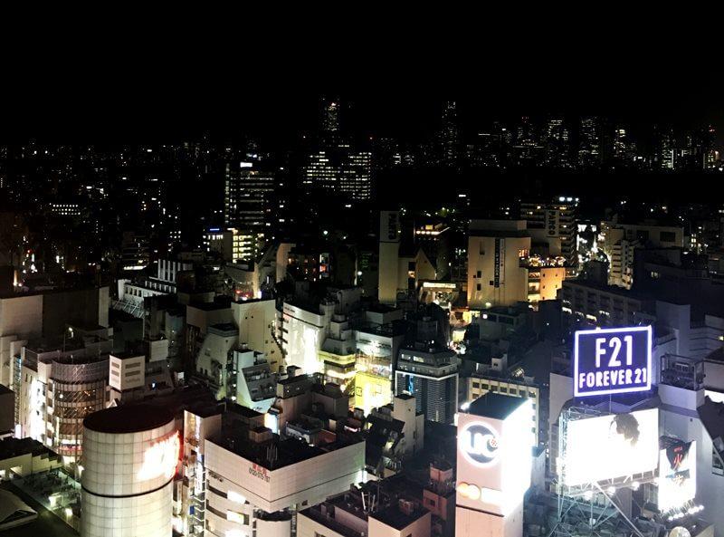 渋谷側の景色