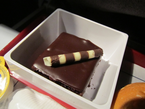 チャイナ航空機内食スウィーツ