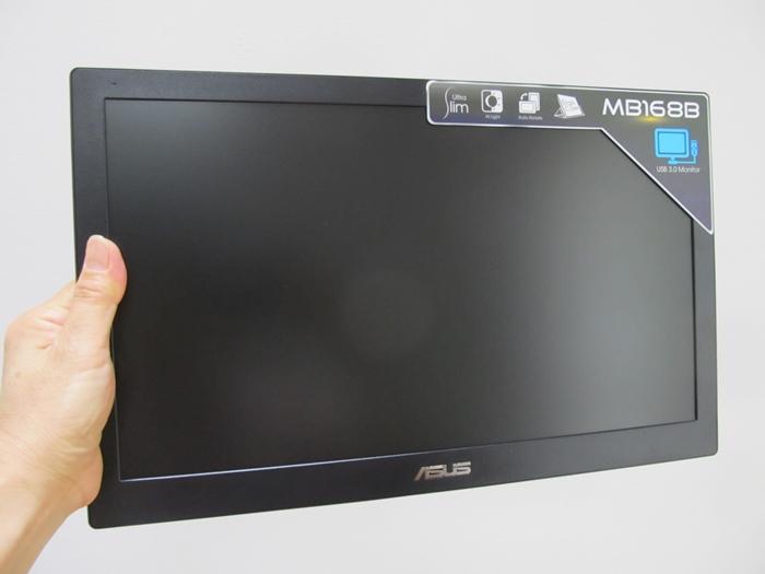 ASUS MB168 口コミ レビュー