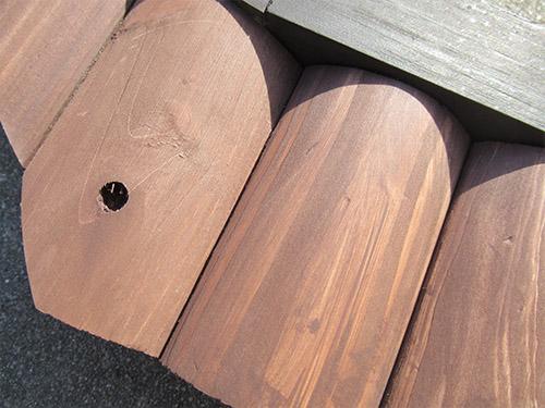アイリスオーヤマ 犬小屋 中型犬 屋外 木製