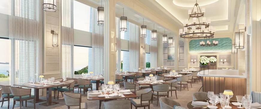 ハレクラニ沖縄 予約 料金 レストラン紹介の画像 コース料理 「シルー」は沖縄言葉で「白」