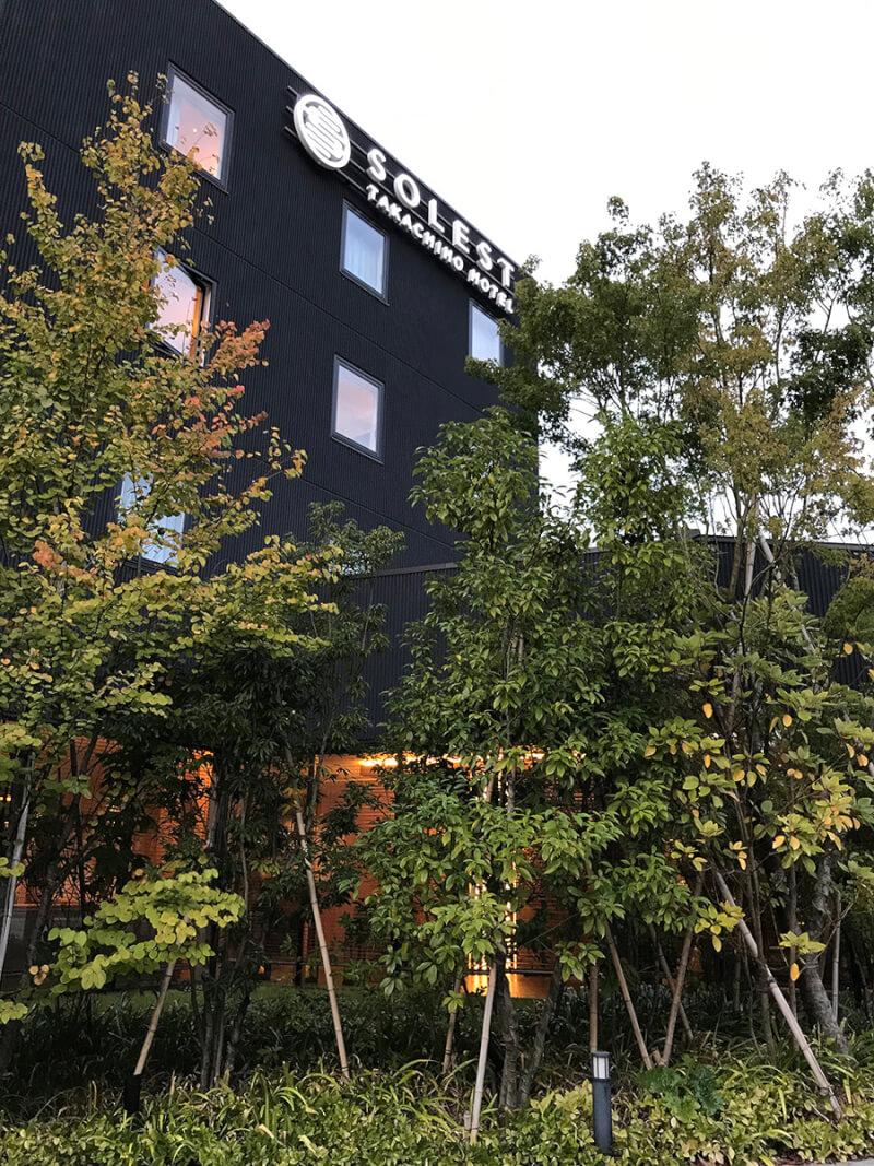 ソレスト高千穂 口コミ ホテルの外観の写真