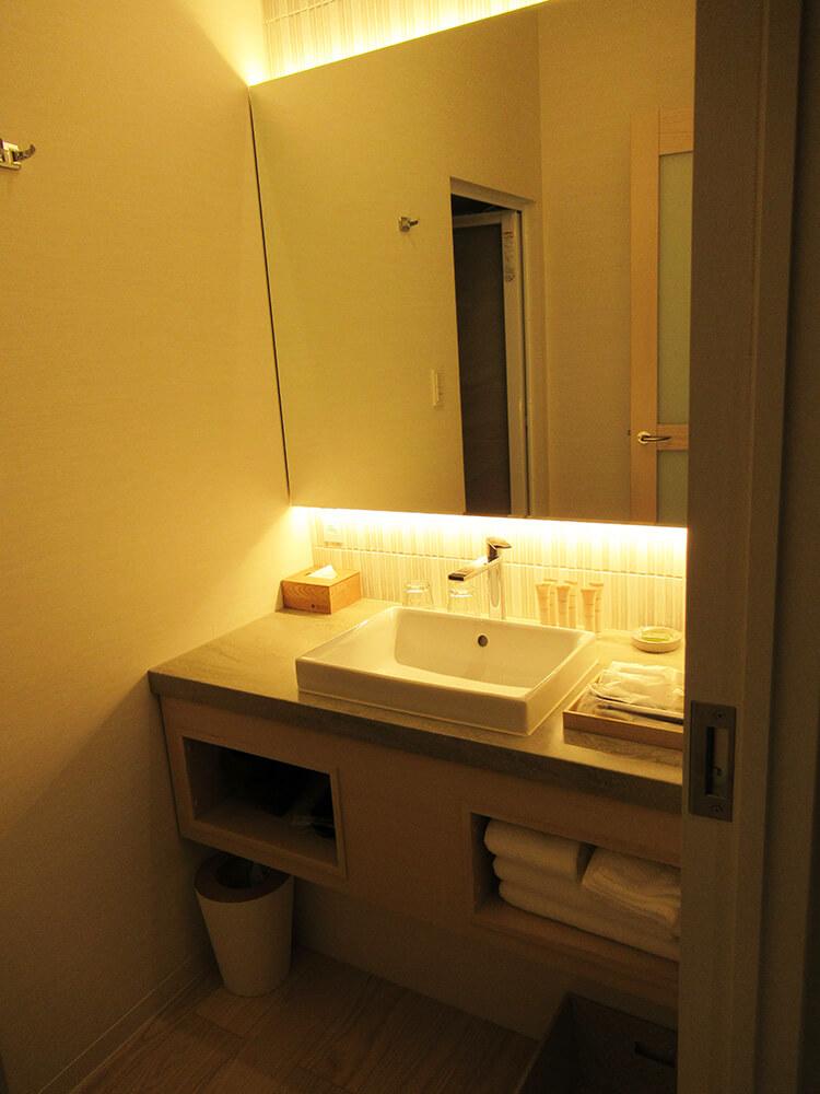 ソレスト高千穂 口コミ 特別室B お風呂の写真
