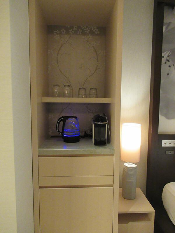 ソレスト高千穂 口コミ 特別室B コーヒーバーの写真