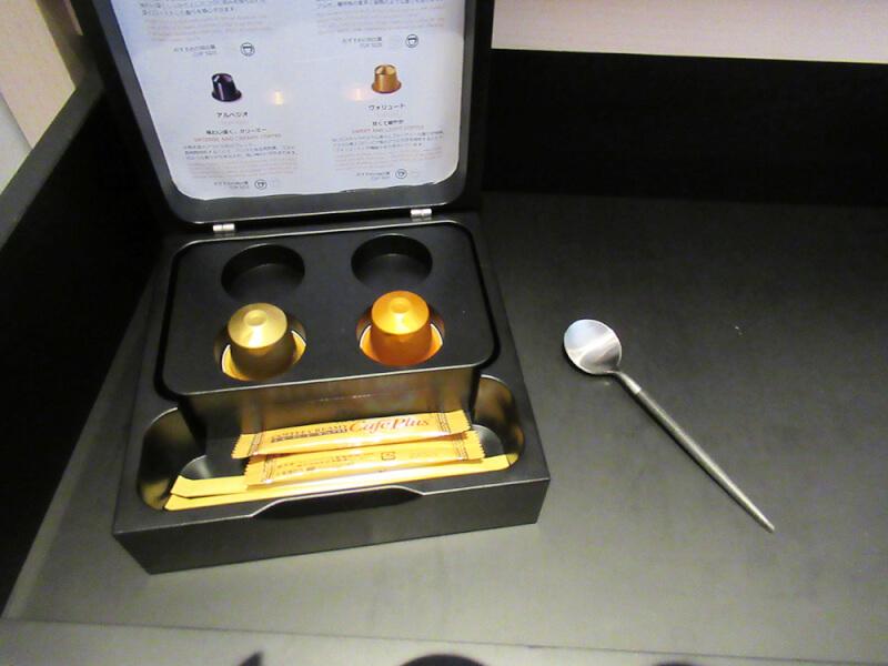 ソレスト高千穂 口コミ 特別室B コーヒーメーカーの写真