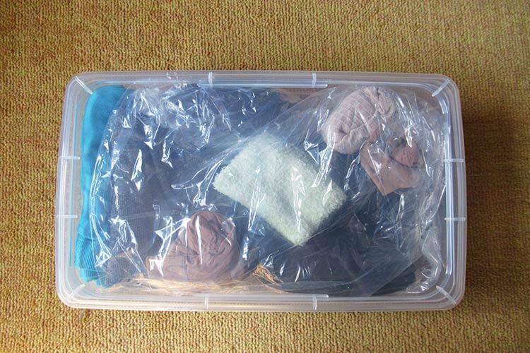 キャリーバッグの詰め方のコツ パンプスの詰め方