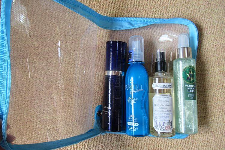 キャリーバッグの詰め方のコツ 大きい化粧品の詰め方