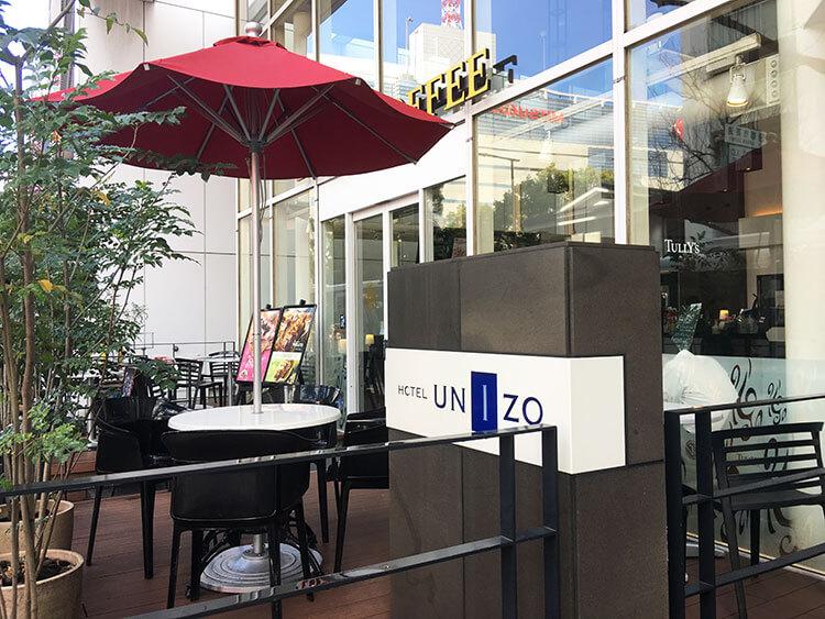 福岡天神ホテルユニゾに泊まってみた!【タリーズの上でべんり&眺めがすごくいい】ホテルユニゾのタリーズの写真