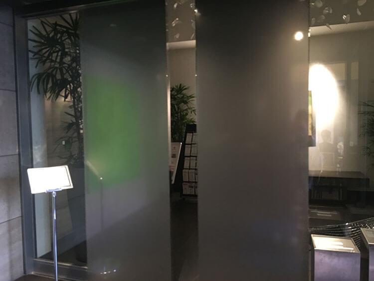福岡天神ホテルユニゾに泊まってみた!【タリーズの上でべんり&眺めがすごくいい】エントランスの写真