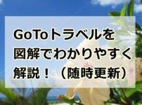 Go Toトラベルキャンペーンをわかりやすく図解で解説! トップ画像