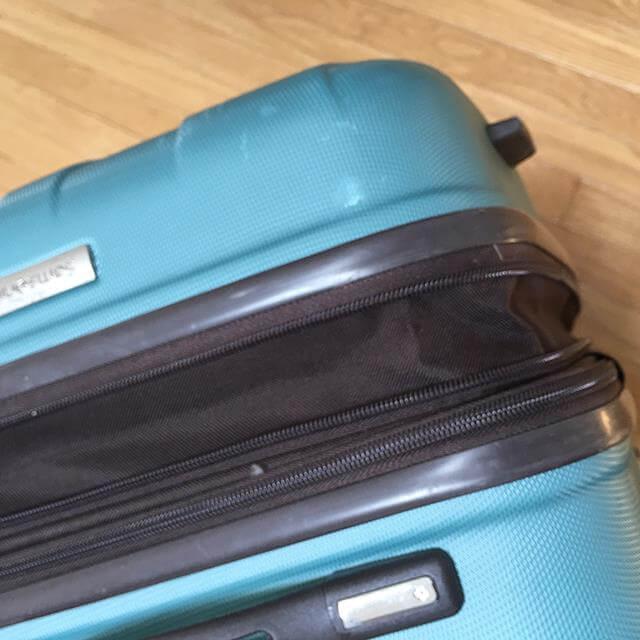 スーツケース 詰め方 スーツケースの拡張機能は使わない
